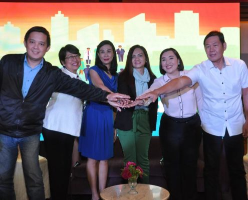 Cancer Game Plan advocates in the Philippines pose for a photo